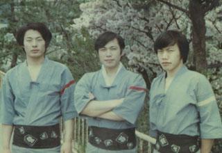 お祭り三兄弟の写真